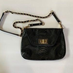 Rebecca Minkoff Black Snakeskin Bag